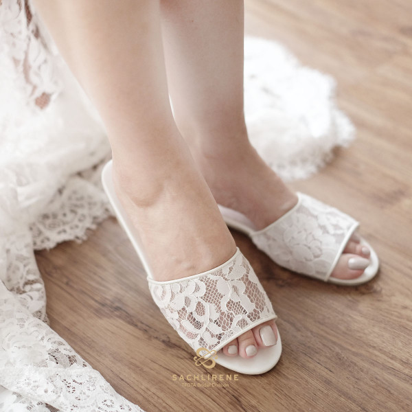 Bride Slippers ; something we never knew we need it.